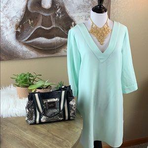 Mint Tunic Blouse or Dress